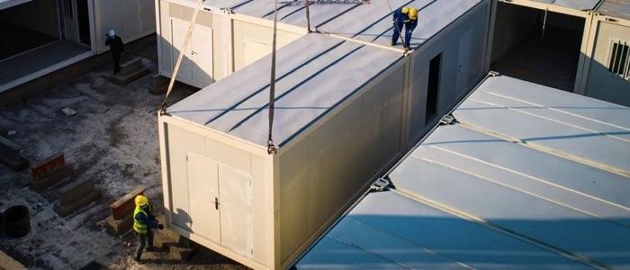 Leichenshan modulos prefabricados