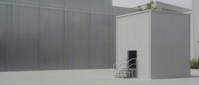 Arquitectura modular, adaptable a diferentes sectores
