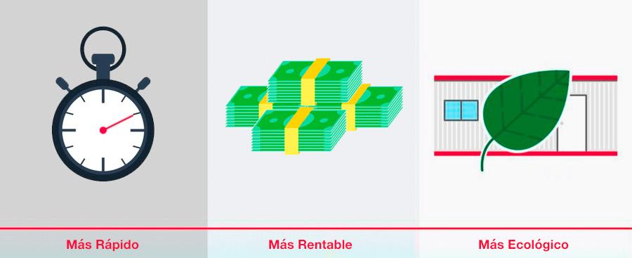 beneficios construcción modular