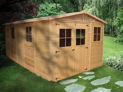 caseta madera office