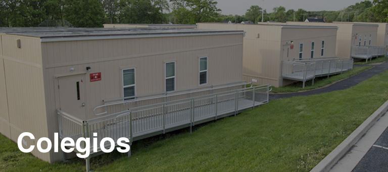 Colegios y aulas prefabricadas