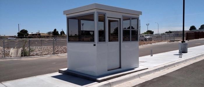 Casetas de seguridad prefabricadas