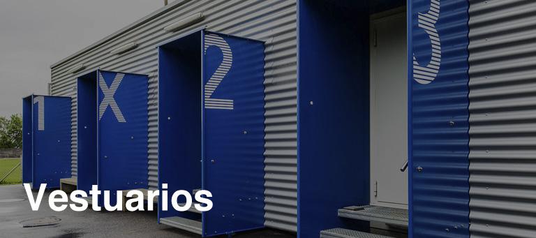 vestuarios modulares